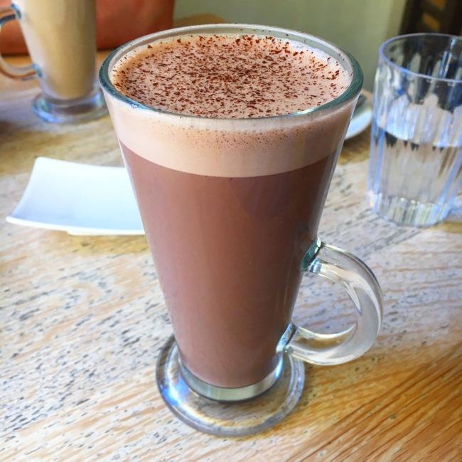 chocolate utopia nottingham cafe hot chocolate