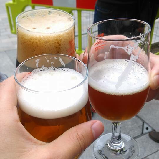 nottingham craft beer week three glasses