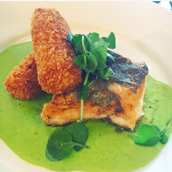 petit paris nottingham  set menu hake special
