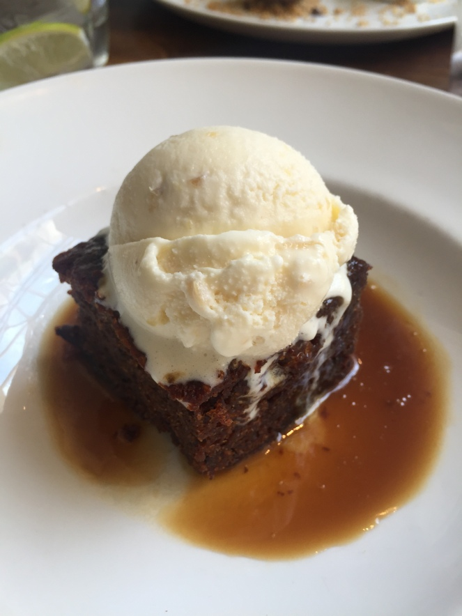 image1Browns Brasserie and Bar dessert Sticky Toffee Pudding