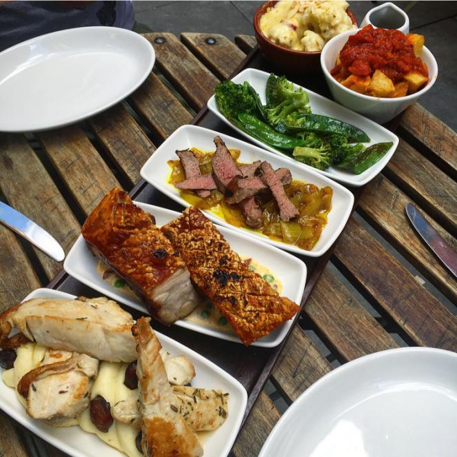 baresca tapas nottingham sunday roast
