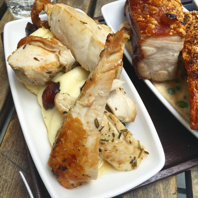 baresca tapas nottingham sunday roast chicken
