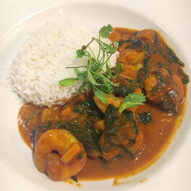 loch fyne nottingham a la carte cod malabar curry