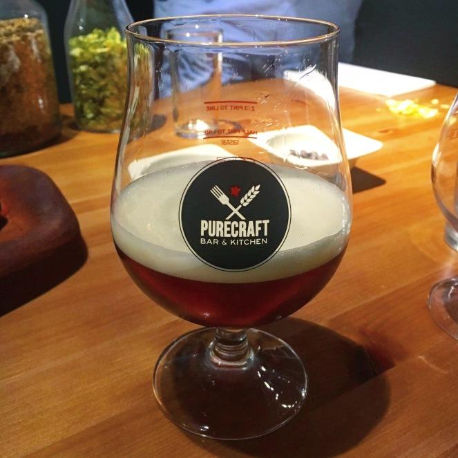 purecraft nottingham beer tasting