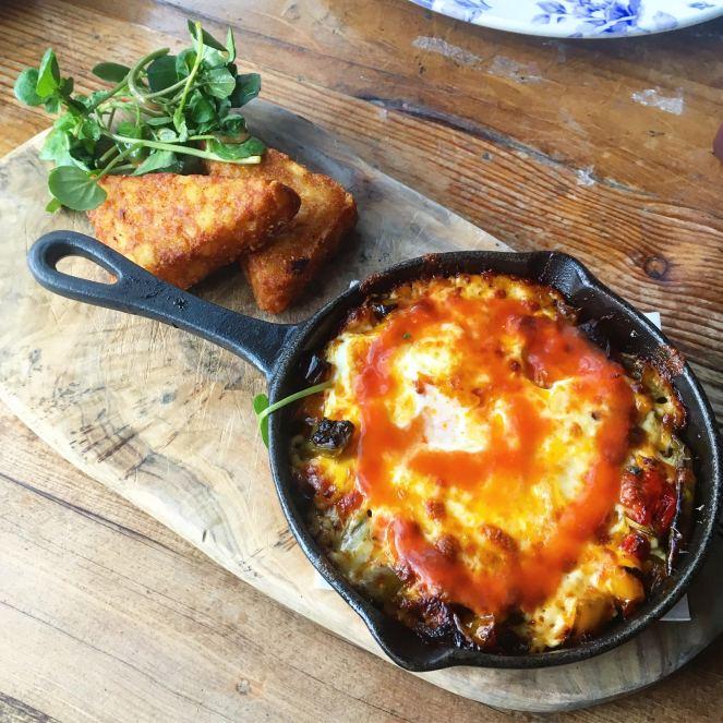 curious manor nottingham brunch breakfast hangover hash