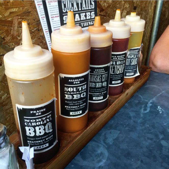 reds bbq nottingham  bbq sauces
